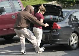 danger of attackers in parking lots