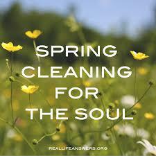 spiritual cleaning