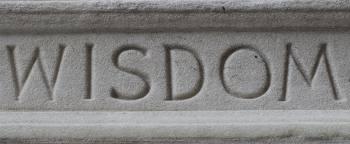 wisdom cut in stone