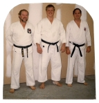 Tim with Glenn & Joe in his fighting prime