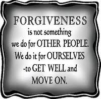 forgiveness is for us