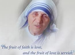 Mother Teresa and Service