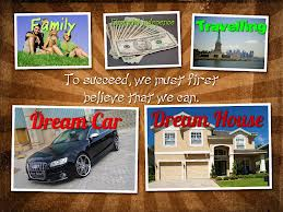 sales related vision board