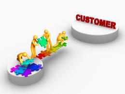 Building a bridge to the customer.