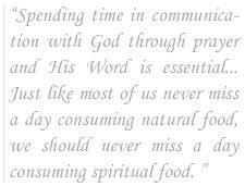 spiritual food