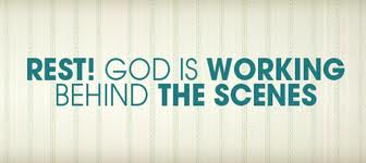God Working Behind the scenes
