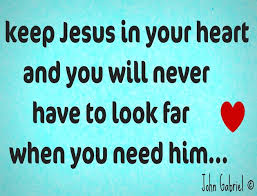 Jesus in the heart