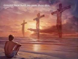 jesus love - greater love hath no man - friends