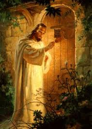 Jesus - standing at the door knocking