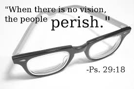 No vision People Perish glasses