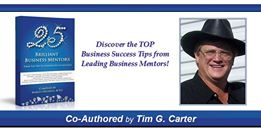 25 brilliant Mentors - Tim G Carter Slam banner