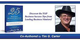 25 brilliant Mentors - Tim G Carter Slam banner