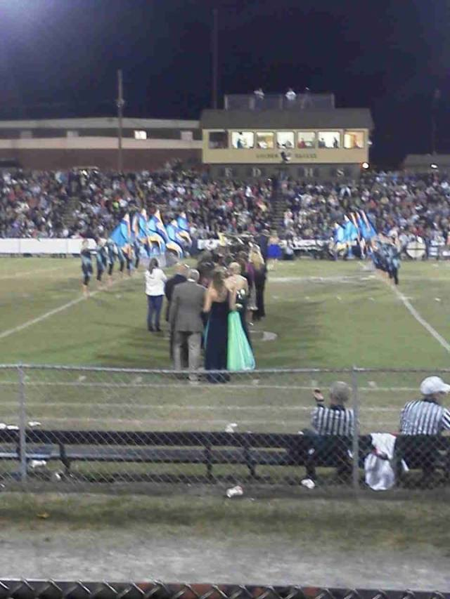 Homecoming at East Davidson High School 2013