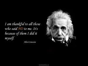 Believe in yourself personal value self worth Einstein