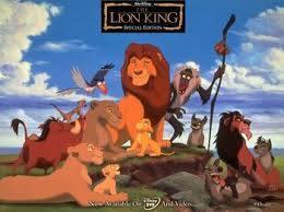 Lion King pride character wisdom Simba