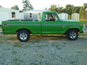 Slam's 77 Truck