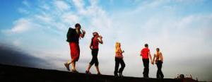 taking steps - walking