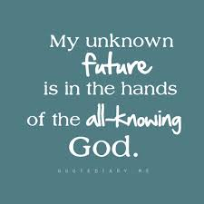 private partner unknown future in hands of all knowing God