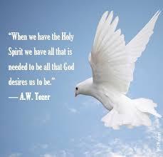 Holy Spirit Indwelling wisdom from God
