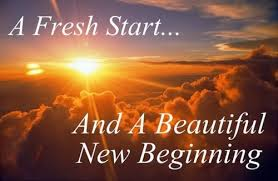 fresh start new beginning rebirthing
