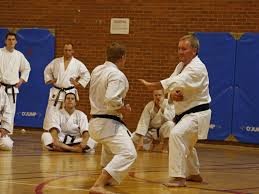 zanshin picture of karateka demonstrating mental attitude