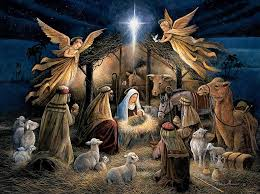 Love Jesus was born in a manger humble circumstance