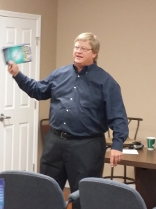 Tim talking about The Book
