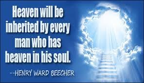 Heaven in our soul