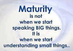Maturity Understanding